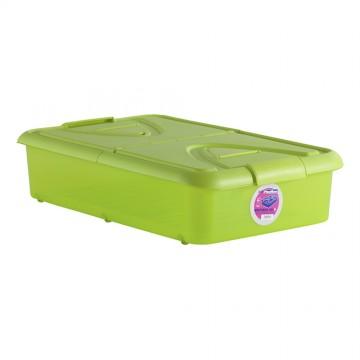 *ult. unidades* caja 60l. bajo cama pistacho 80x50x18cm
