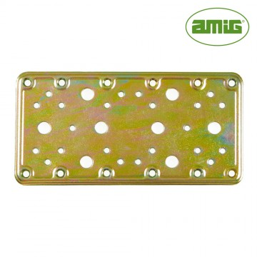 S.of. placa 503-200x100 acero bicromatado (s) amig