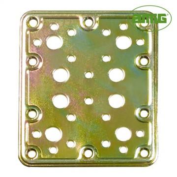 S.of. placa 504-80x100 acero bicromatado (s) amig